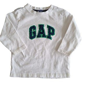 🍒3/$20🍒 GAP White Long Sleeve Tee 18-24 mo